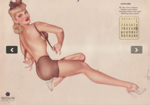 Calendar girl 8